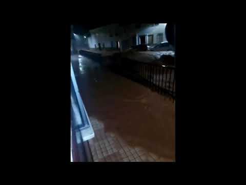 Tremendas inundaciones en Campillos ( Málaga). Una gran tromba de agua inunda Campillos. Temporal