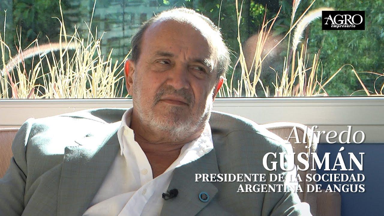 Alfredo Gusmán - Presidente de la Asociación Argentina de Angus
