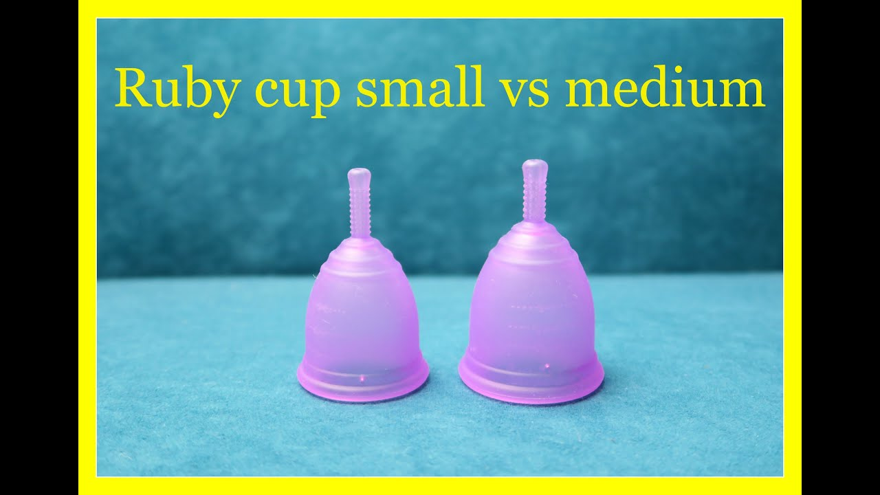 Ruby cup small vs medium