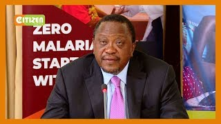 President Uhuru Kenyatta takes over as leader of Africa Malaria alliance
