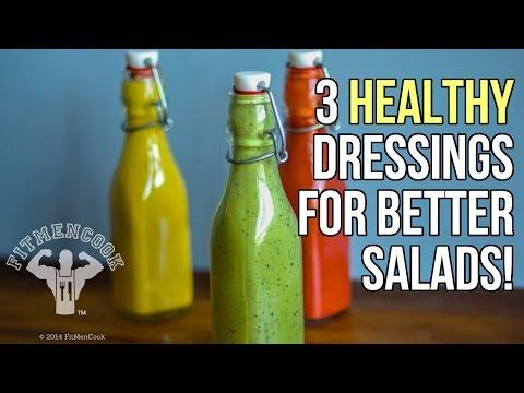 3 Healthy Homemade Dressings to Make Your Salad Pop / 3 Aderezos Caseros y Saludables