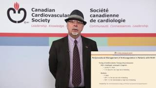 Afib: Perioperative Management of Anticoagulation: 2016 AF Guidelines