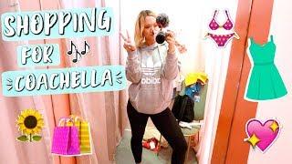 Shopping for Coachella 2018!! - Video Youtube
