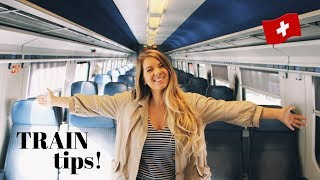 SWITZERLAND | 8 Train Travel Tips (for first-timers)