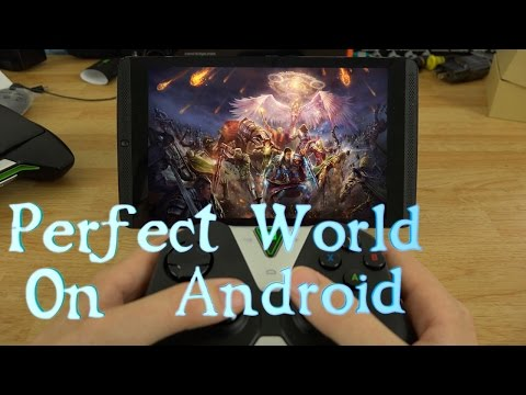 Perfect World Gameplay on Android