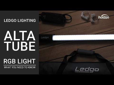 Ledgo AltaTube RGB Tube Light | What You Need to Know | 80C, 120C, & 180C Overview