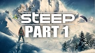 STEEP Walkthrough Gameplay Part 1 – Playing in the Snow