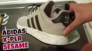 Adidas x PLR videos de examen y en los pies