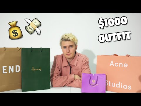 I Spent $1000 On A Full Clothing Outfit... (not very crazy)