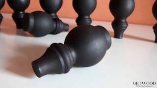 Видео - Мебельная резная ножка l-Ava