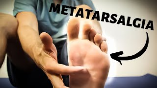 Metatarsalgia Treatment [BEST Ball of Foot Pain RELIEF 2020]