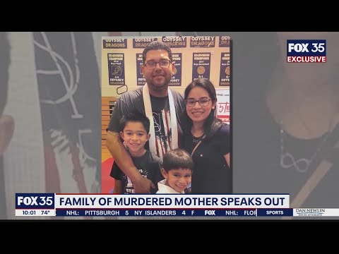 Family of murdered mother speaks out