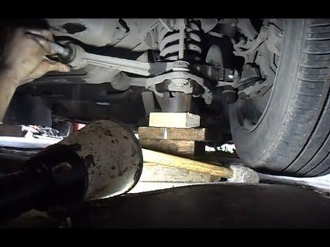 замена сайлентблоков нижнего рычага Волга ГАЗ-31105