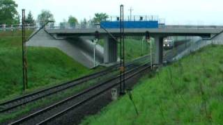 preview picture of video 'Mijanka dwóch poc. towarowych na Węglówce | Inowrocław-Karsznice | 258,7.km(Babiak) |'