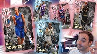 NBA 2K18 MY TEAM PINK DIAMOND DIRK & INSANE NEW DYNAMIC DUOS! MORE PINK DIAMONDS!!!