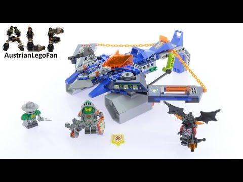 Vidéo LEGO Nexo Knights 70320 : L'Aero Striker V2 d'Aaron Fox