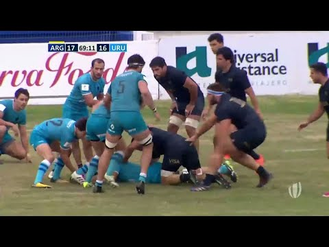 What a try! Uruguay score insane cross field kick - World Rugby Nations Cup