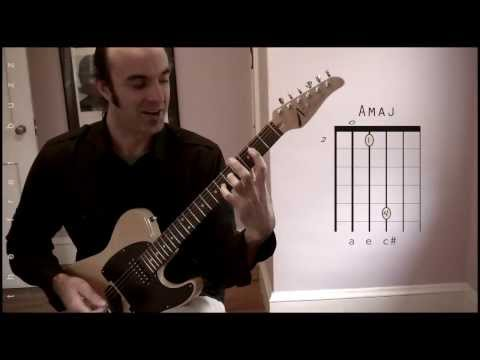 Guitar Lesson | In My Life | a chord solo for electric guitar