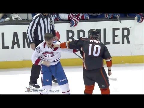 Corey Perry vs. Andrew Shaw