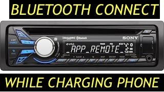 CONNECT BLUETOOTH TO SONY MEX-BT3100P