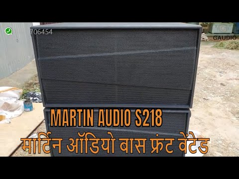 Martin S218 Style Dual Bass Cabinet