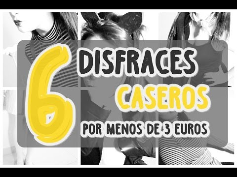 6 DISFRACES CASEROS. Fáciles y baratos. ♥