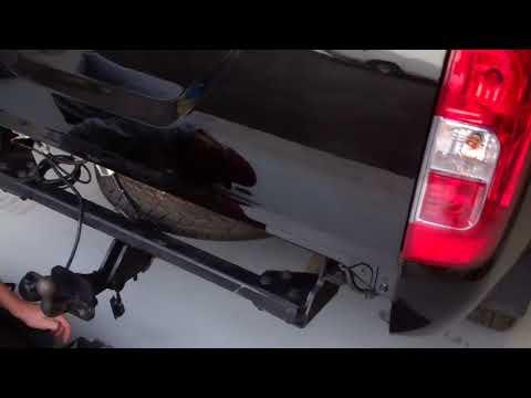Nissan Navara NP300 Rear Bumper - Black