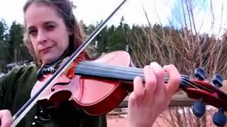 Rights of Man Set Irish Fiddle Music Katy Adelson  360 X spcs me