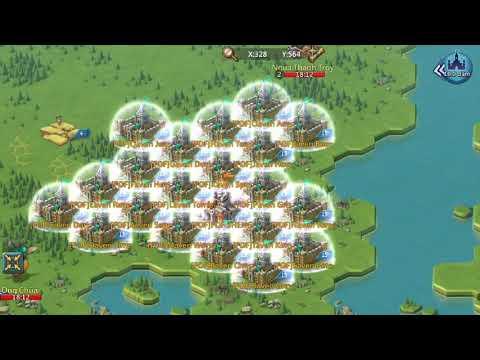 Lords Mobile Bot Farming! K228 - игровое видео смотреть