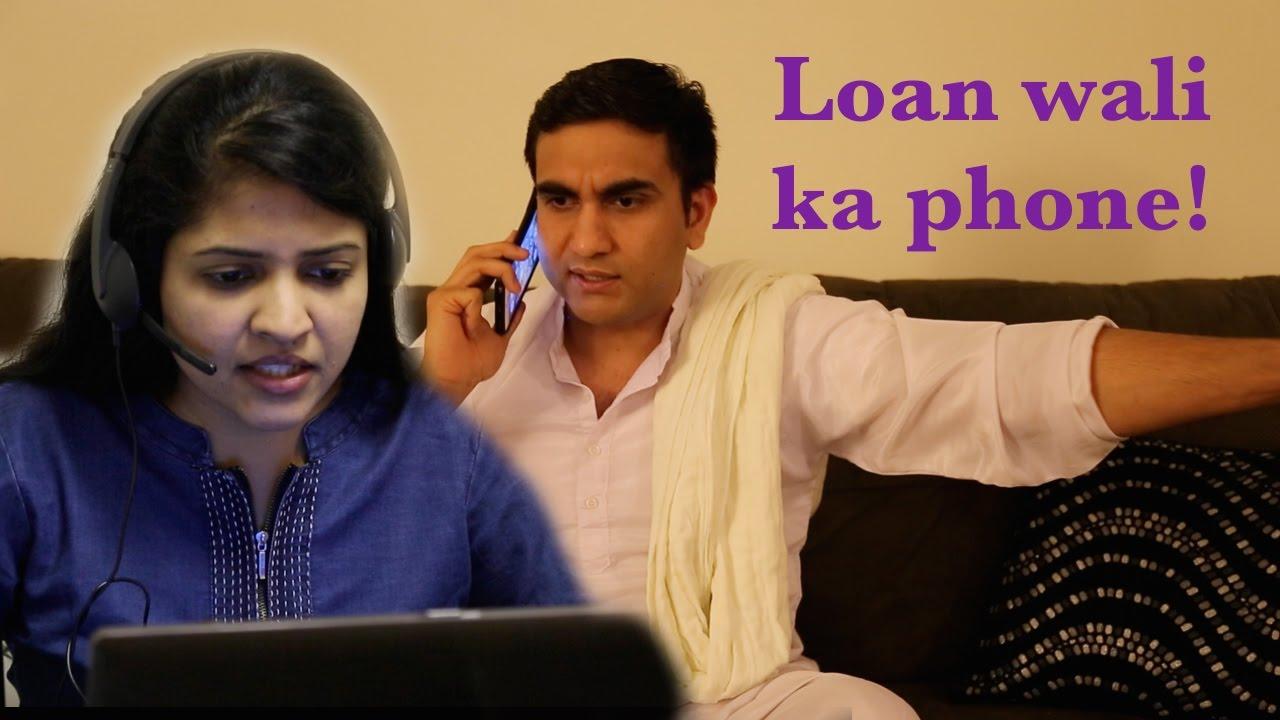 Loan wali ka Phone -|Lalit Shokeen Funny|