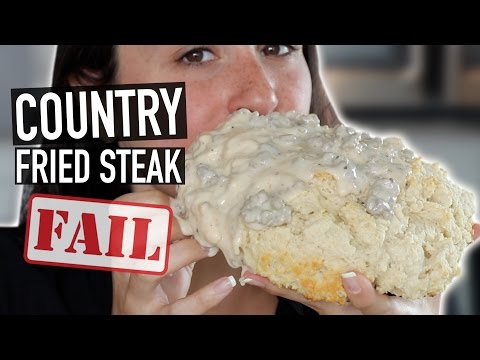 GIANT BISCUIT AND GRAVY - WORST FAIL EVER!!