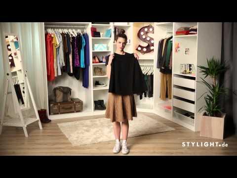Fashion Tutorial » Wie kombiniert man einen Tellerrock | STYLIGHT How To Wear