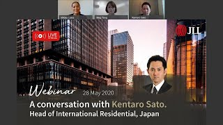 Invest in Japanese Property: A Conversation With Kentaro Sato. Head of JLL International Residential