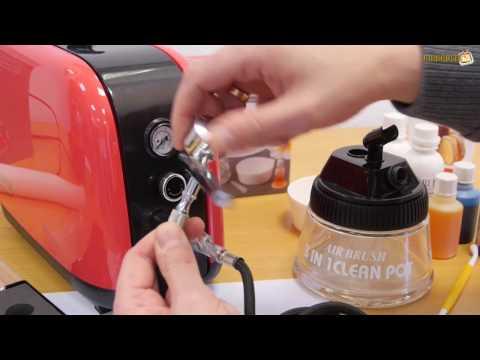 Airbrush Torten Set für Anfänger  - Das Städter Airbrush & Kompressor Set im Test