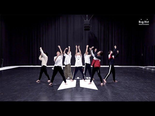 [CHOREOGRAPHY] BTS (방탄소년단) 'Black Swan' Dance Practice