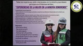"""Participa en el II Volumen del libro: """"Experiencias de la mujer en la minería Sonorense"""