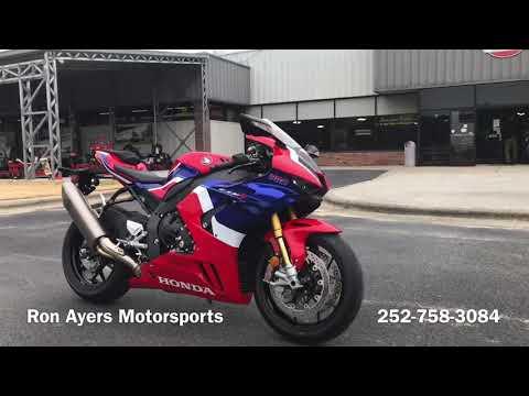 2021 Honda CBR1000RR-R Fireblade SP in Greenville, North Carolina - Video 1