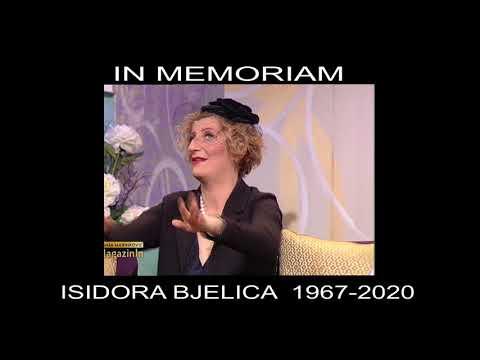 IN MEMORIAM – Isidora Bjelica