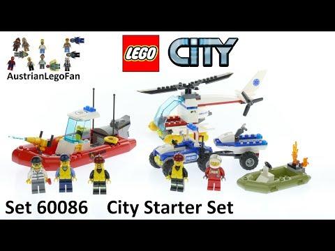 Vidéo LEGO City 60086 : Ensemble de démarrage LEGO City