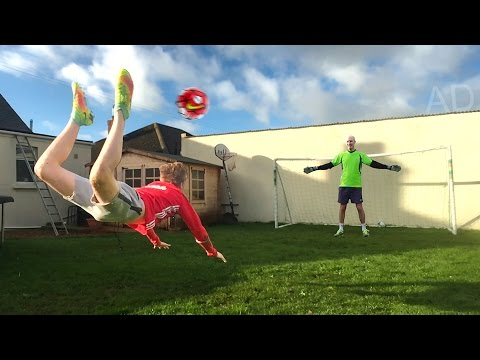 SCORPION KICK FOOTBALL CHALLENGE