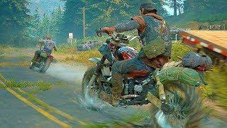 Days Gone - 50 Minutes New Gameplay Walkthrough Part 1 (PS4)