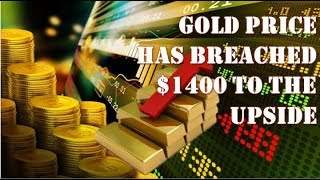 Gold News Update! Our Gold Fundamental Price Has Breached $1400 To The Upside