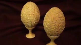 Смотреть онлайн Мастер класс: технология резьбы пасхального яйца