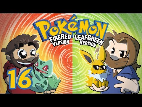 Pokemon Fire Red and Leaf Green | Let's Play Ep.16 | Super Beard Bros.