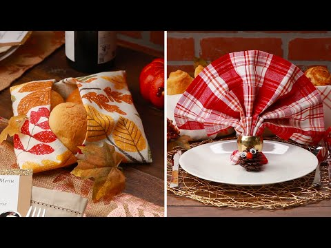 12 Napkin Folds For Your Table