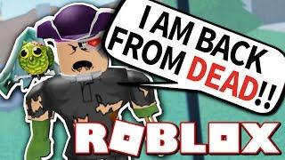 I AM A ZOMBIE!! (Roblox Murder Mystery 2)