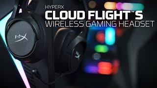 Cloud Flight S — беспроводная игровая гарнитура для PS4 и ПК