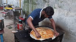 GHEE KARAM DOSA   RayalaSeema Karam Dosa   South Indian Street Food -  Street Food Hyderabad
