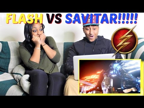 The Flash vs Savitar - The Flash 3x15 Savitar Escapes from Speed Force REACTION!!!