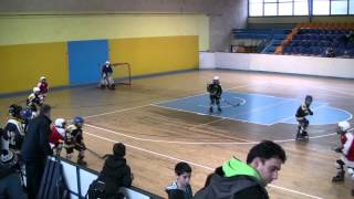 preview picture of video 'Roller Hockey Game - Herzlia Wolves vs. Kiryat Ono (kids league 2002-2003)'
